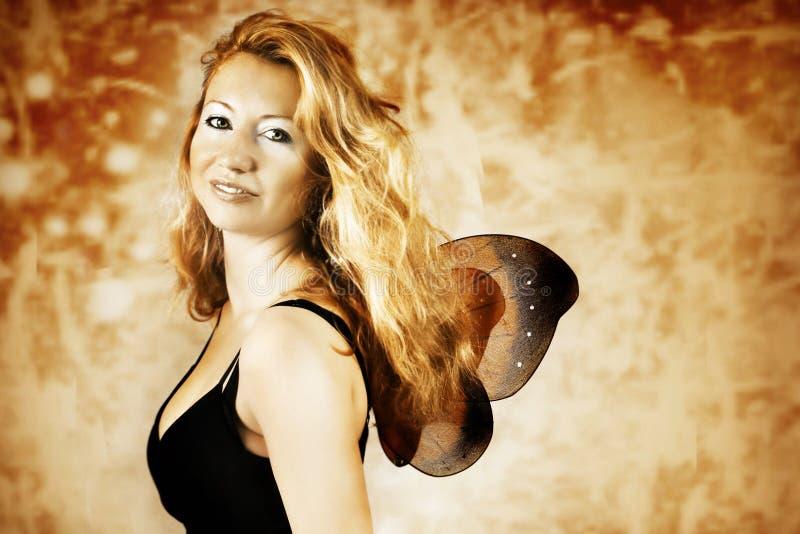 Weinig vlinder royalty-vrije stock foto's