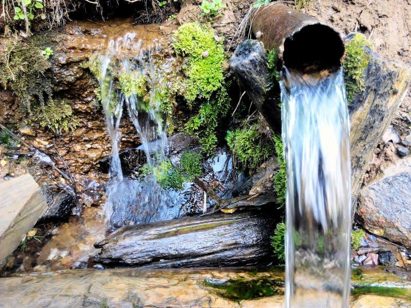 Weinig waterval royalty-vrije stock fotografie