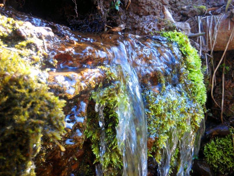 Weinig waterval royalty-vrije stock afbeelding