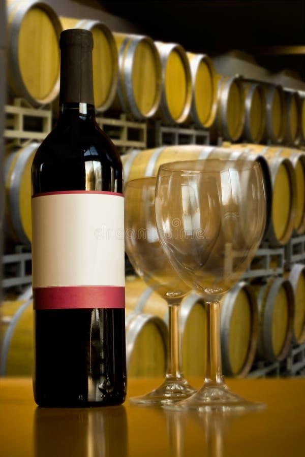 Weinkellerei-Wein-Probieren lizenzfreies stockfoto