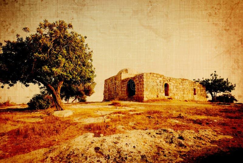 Weinlese - altes arabisches Gebäude lizenzfreie stockfotos