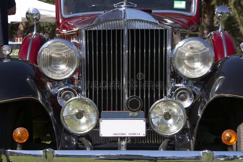Weinlese-Auto Lizenzfreies Stockfoto