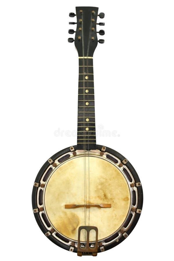 Weinlese-Banjo stockfoto