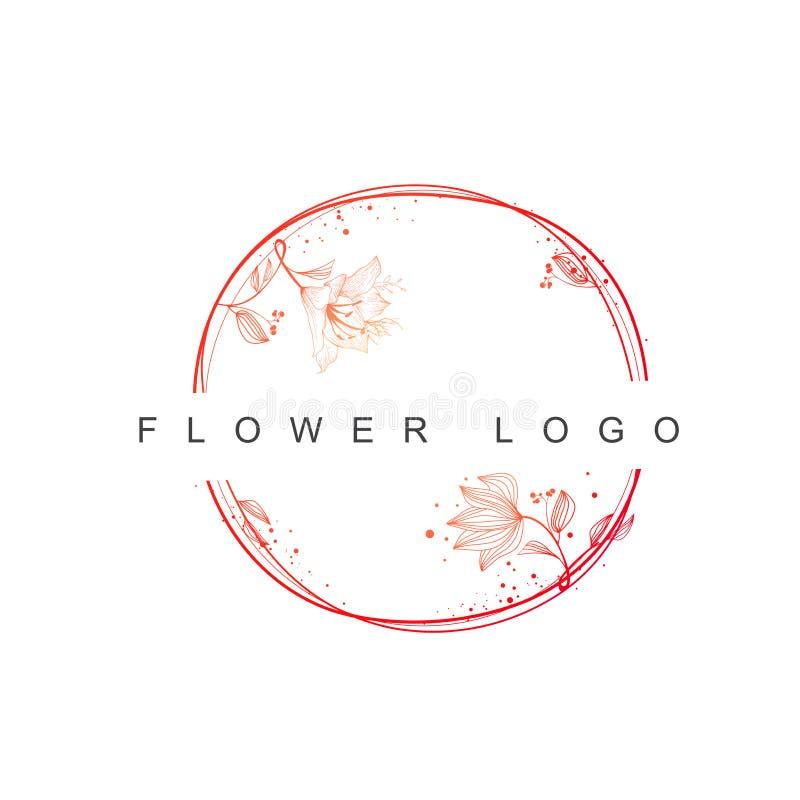 Weinlese-Blumen-Design-Satz lizenzfreie stockfotos