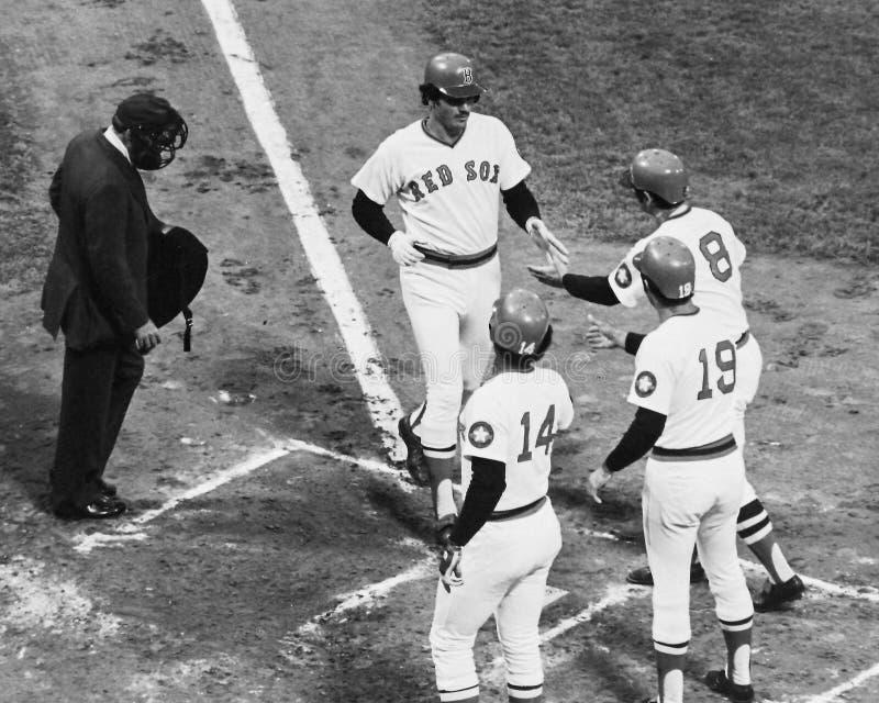 Weinlese Boston Red Sox stockbilder