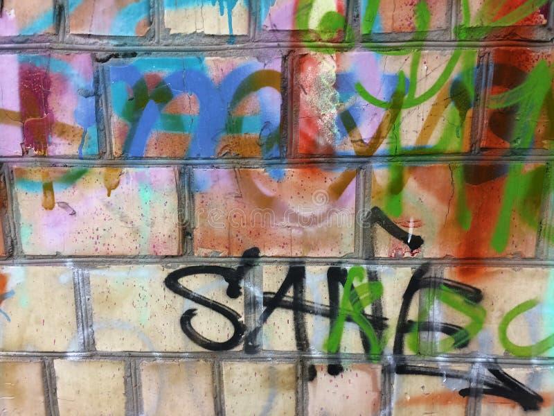 Weinlese brickwall Rahmenhintergrund im Freien Grungy rechteckige Oberfläche der Steinwand Altes rotbraunes Backsteinmauer-Quadra stockbilder