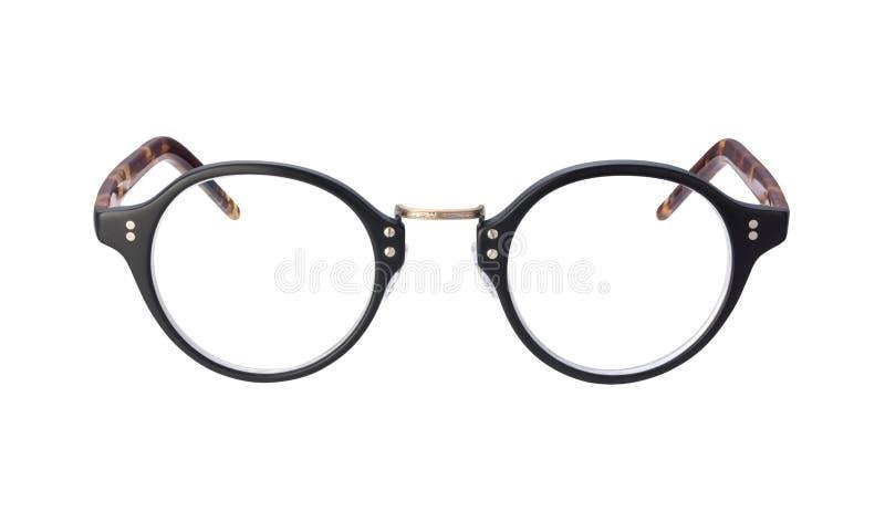 Weinlese-Brillen getrennt worden mit Ausschnittspfad lizenzfreie stockfotos