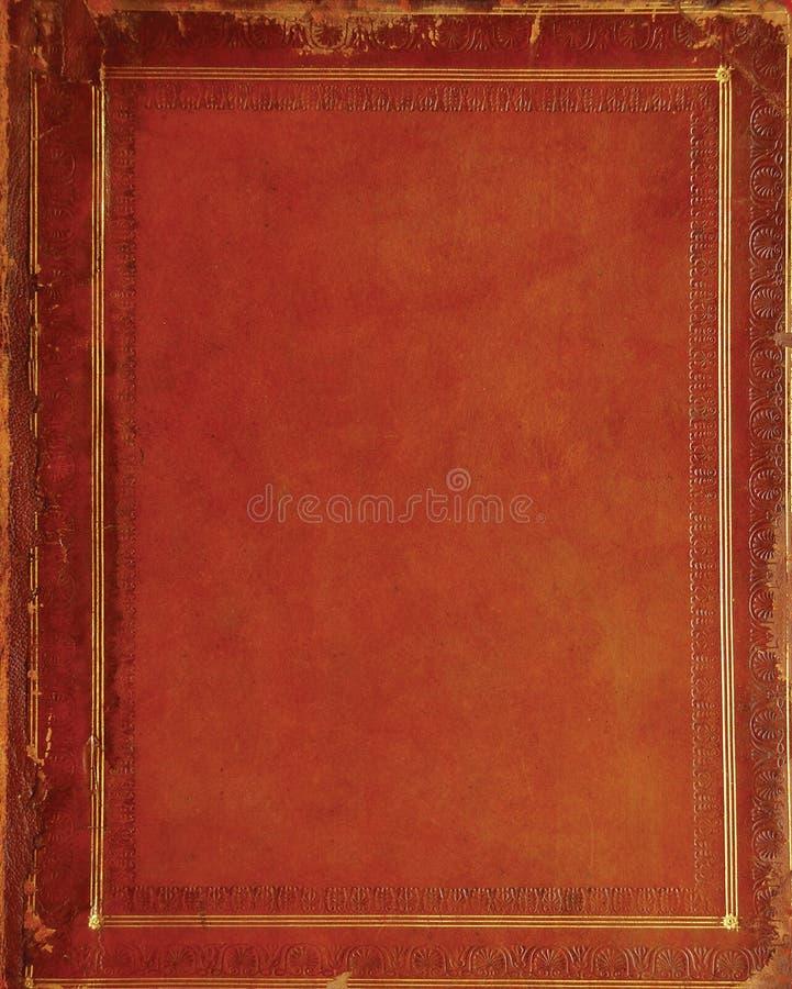 Weinlese-Bucheinband lizenzfreies stockfoto