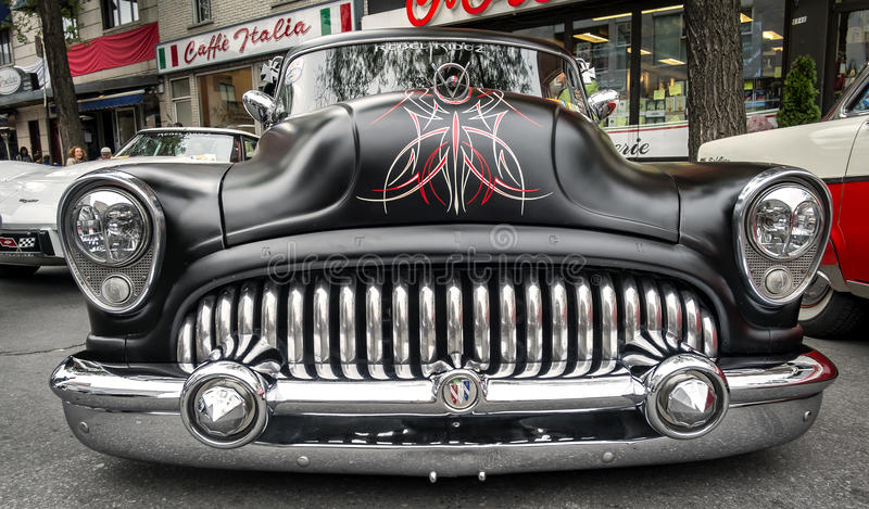 Weinlese-Buick-Auto stockfotografie