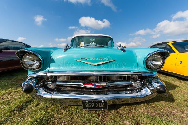 Chevrolet-Bel Air lizenzfreie stockbilder