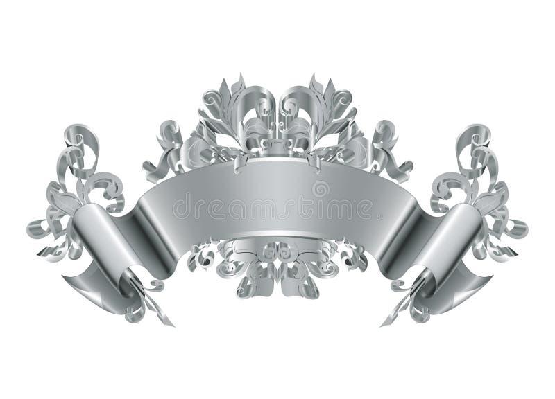 Weinlese-Emblem lizenzfreie abbildung