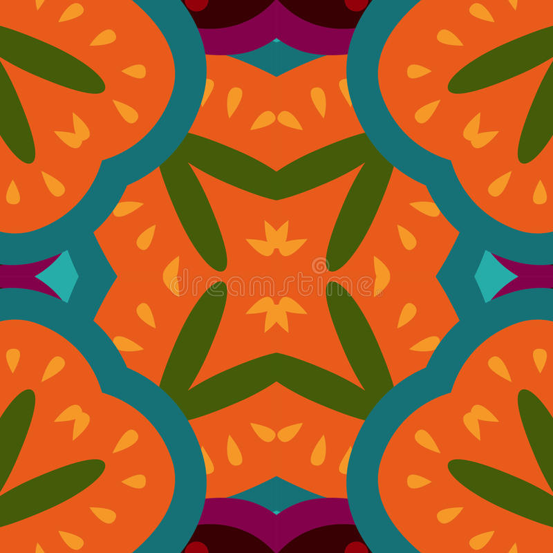 Weinlese farbiges mit Blumendekoratives lizenzfreie abbildung