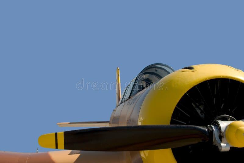 Weinlese-Flugzeug, getrennt stockfotografie