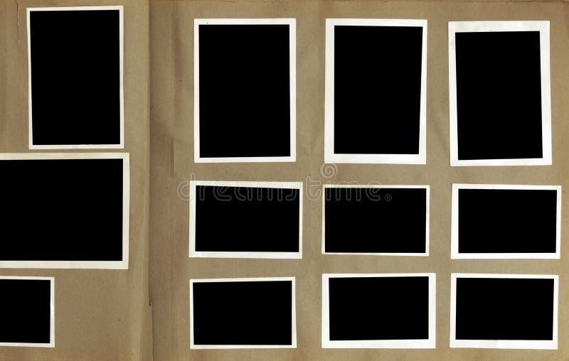Weinlese-Foto-Album lizenzfreie stockbilder