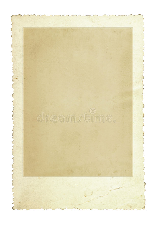 Weinlese-Foto-Feld lizenzfreie abbildung