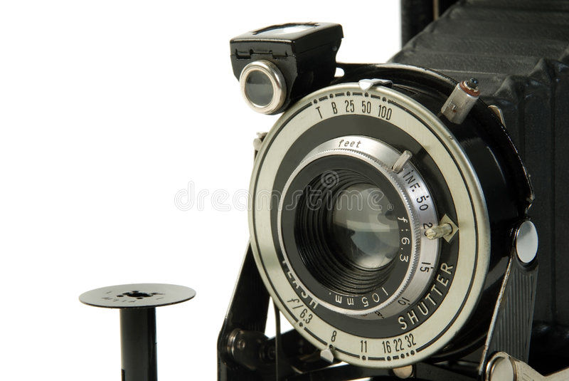 Weinlese-Fotokamera lizenzfreie stockbilder