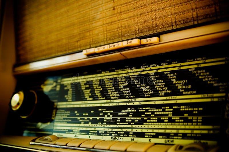 Weinlese-Funk lizenzfreies stockbild