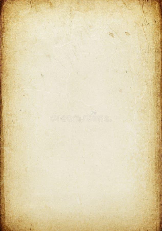 Weinlese gealterter Papierhintergrund vektor abbildung