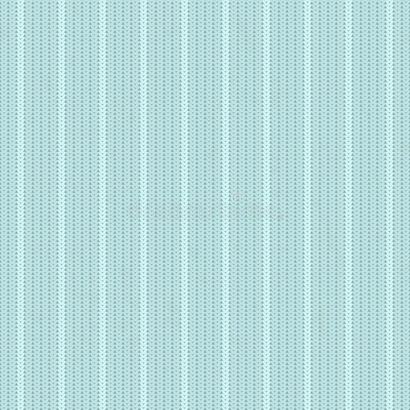 Weinlese gestrickter Hintergrund mit Streifen lizenzfreie abbildung