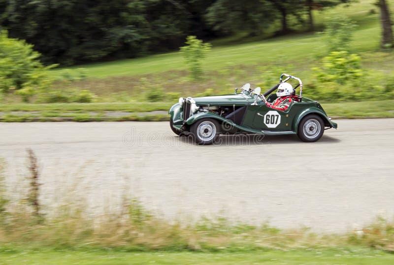 Weinlese-Grand- Prixrennwagen 607 stockfoto