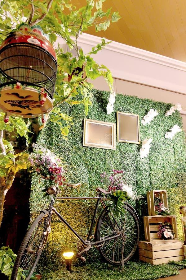 Weinlese Java Foto Booth lizenzfreie stockfotos