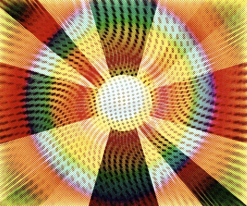 Download Weinlese Kreist Hintergrund Ein Stock Abbildung - Illustration von schwarzes, innen: 26372850