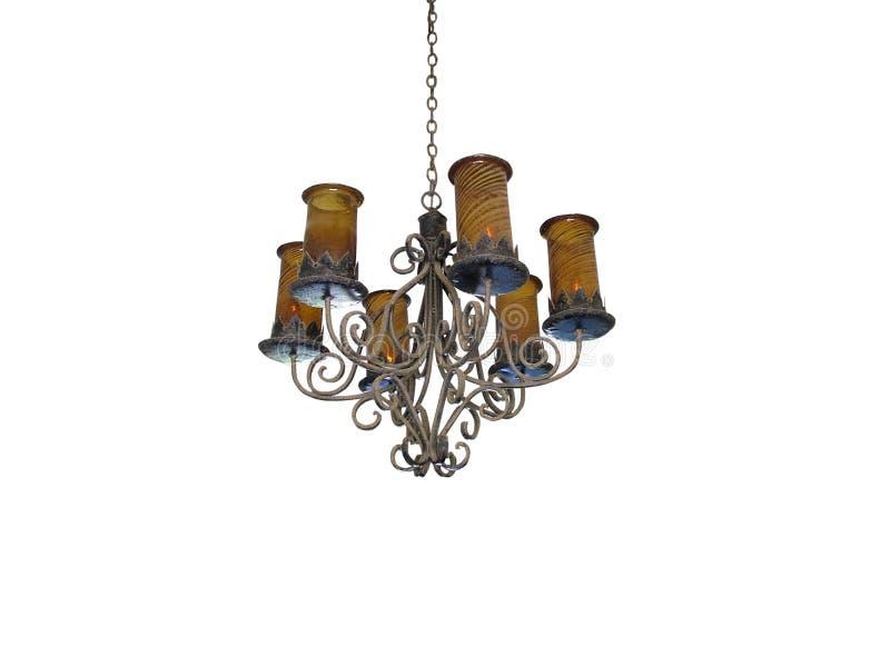 Weinlese-Lampe stockbild