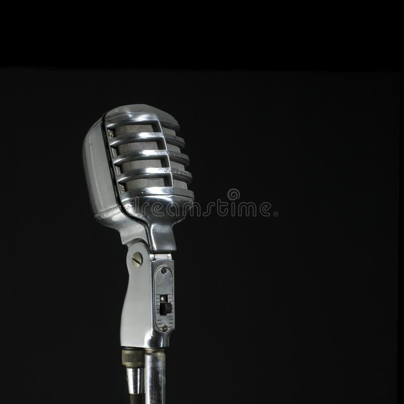Weinlese mic stockbild