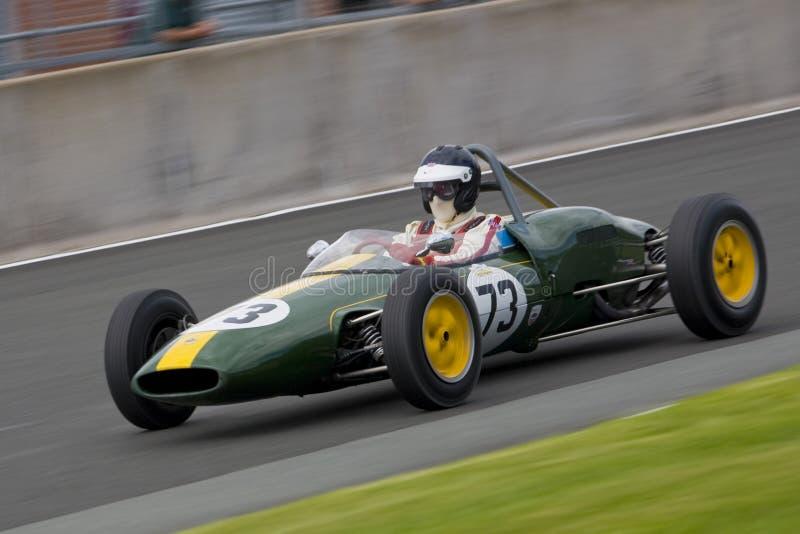 Weinlese Motorsport stockfotografie