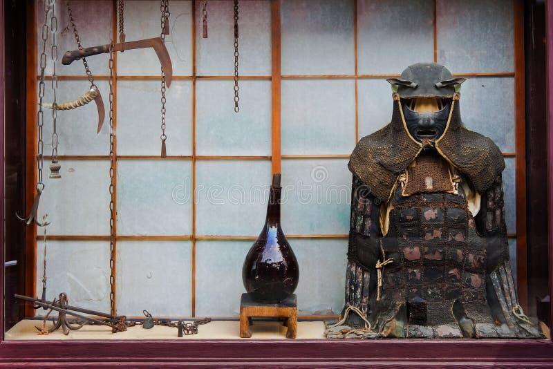 Weinlese Ninja Klage lizenzfreie stockbilder