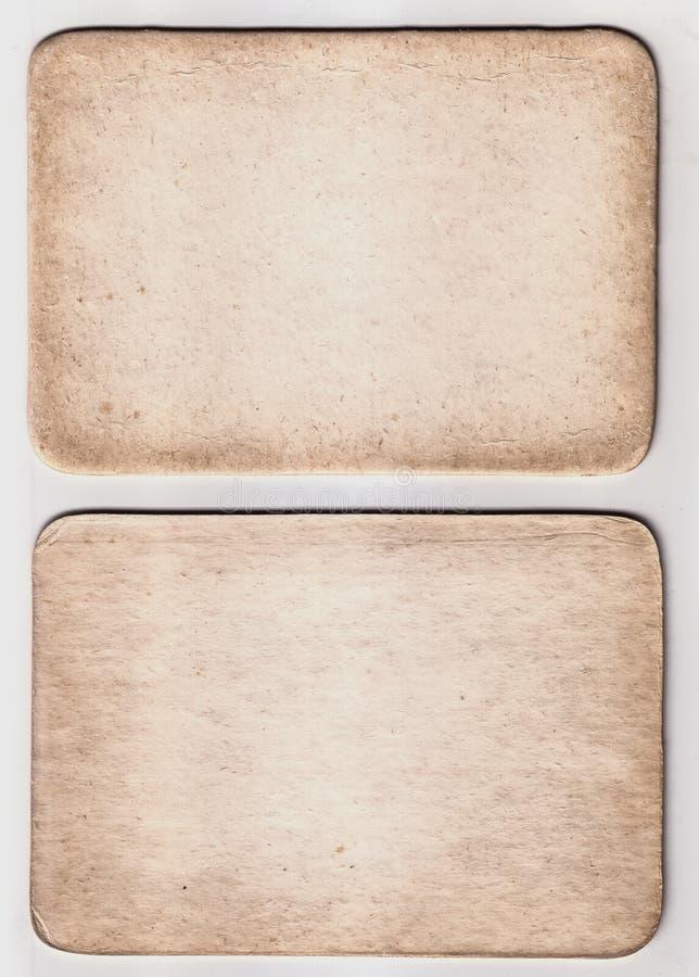 Weinlese-Papierkarten-Beschaffenheit lizenzfreies stockfoto