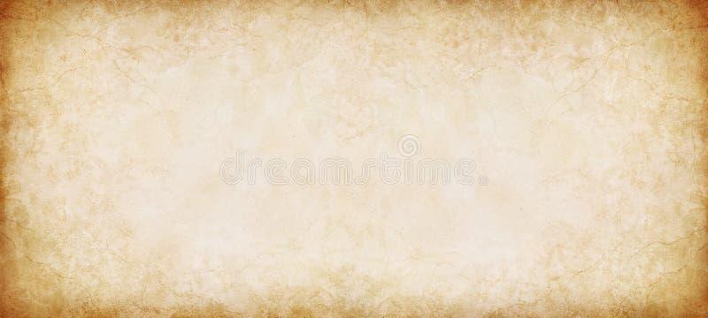 Weinlese-Papierpanorama lizenzfreies stockbild