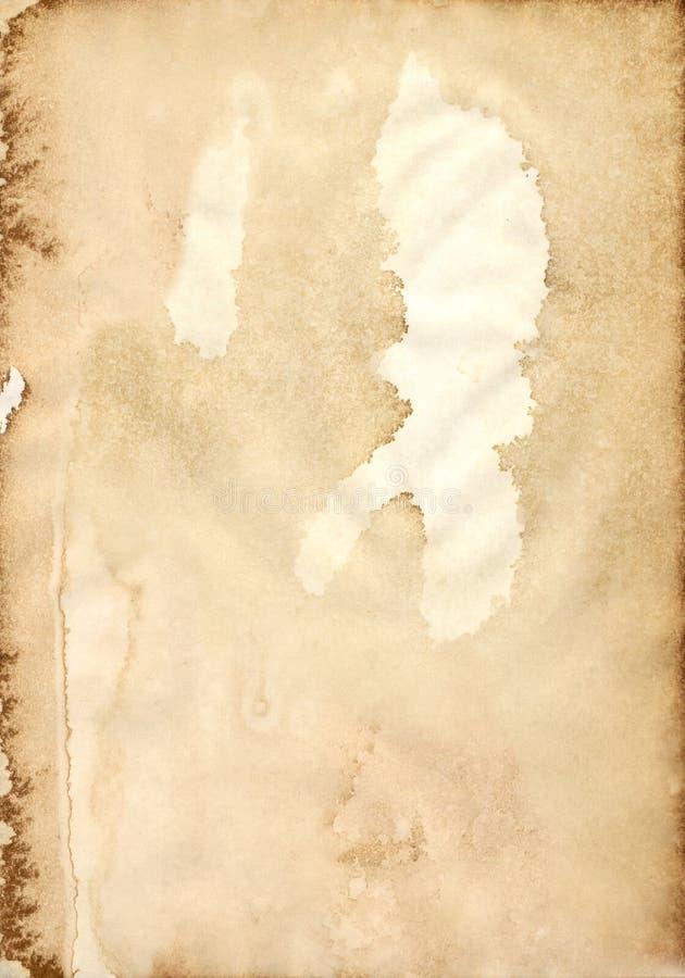 Weinlese-Papierserie 11 stock abbildung