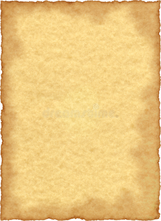 Weinlese-Pergamentpapier lizenzfreies stockfoto