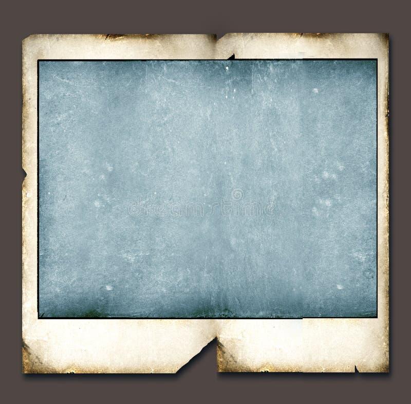 Weinlese-Polaroidfeld vektor abbildung