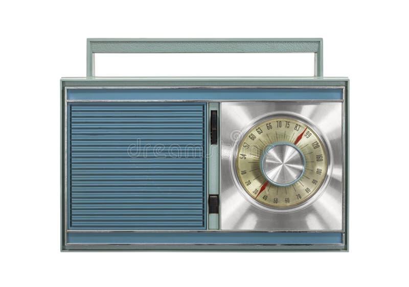 Weinlese-portables Radio lokalisiert lizenzfreies stockbild