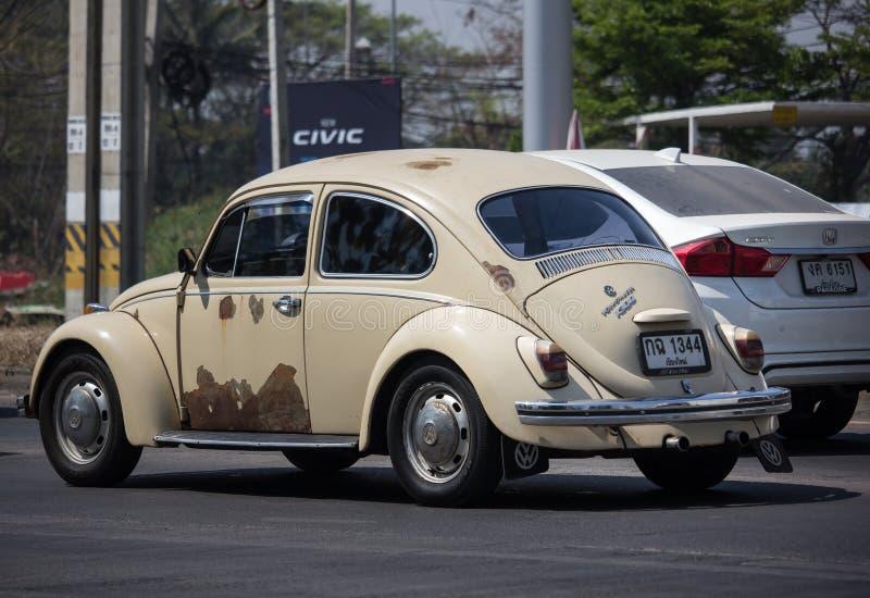Weinlese-Privatwagen, VW Käfer lizenzfreie stockbilder