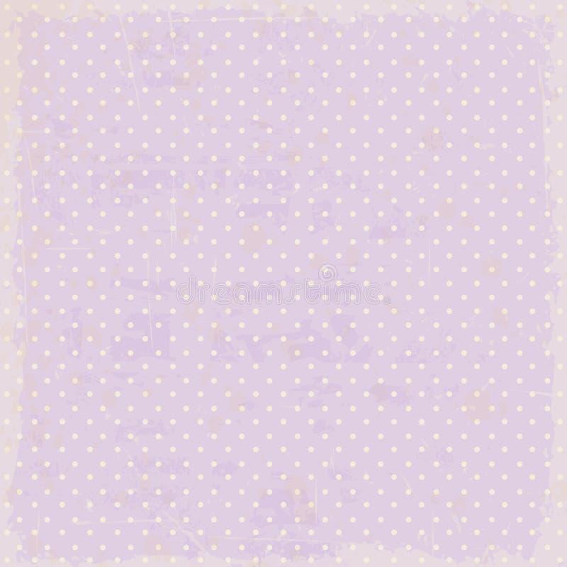 Weinlese punktiert Hintergrund vektor abbildung
