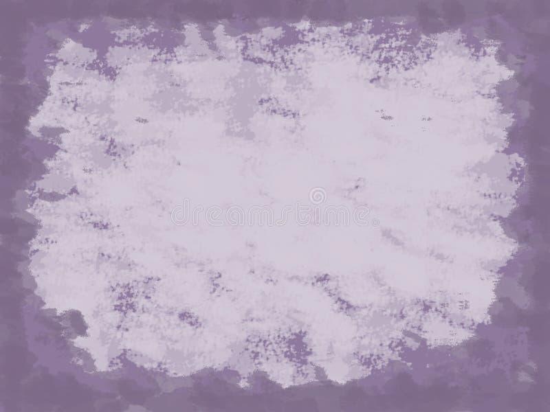 Weinlese-Purpur-Hintergrund stock abbildung
