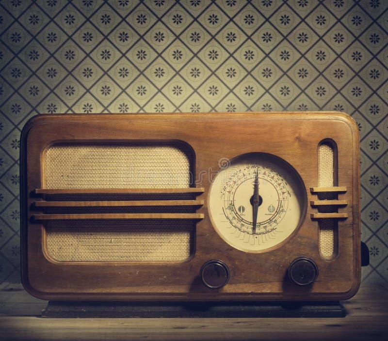 Weinlese-Radio stockfoto