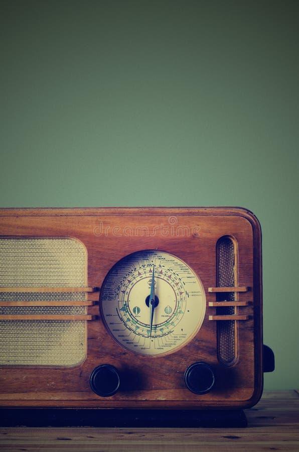 Weinlese-Radio stockfotografie