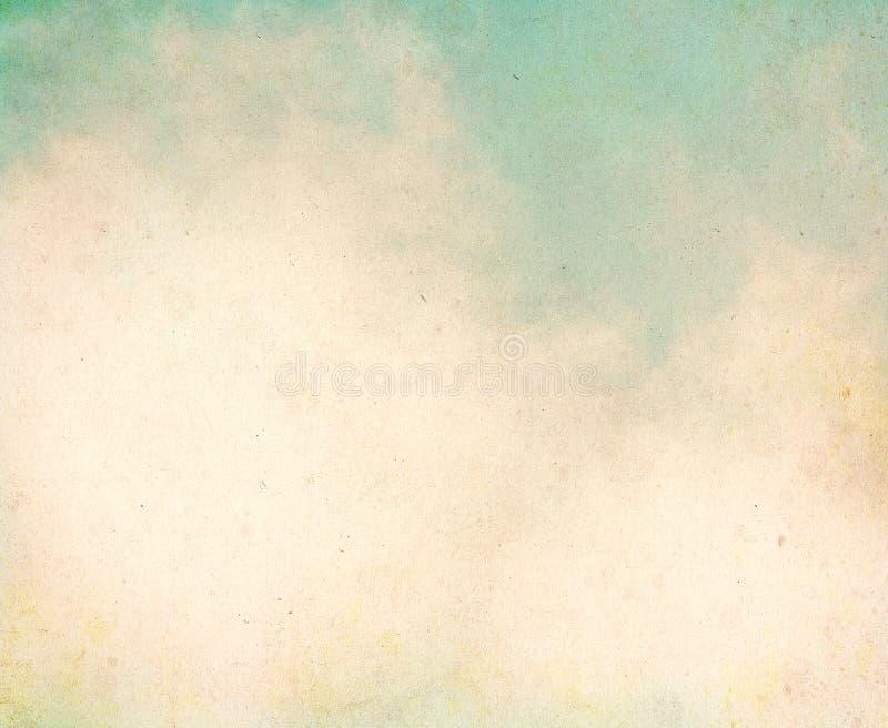 Weinlese-Schmutz-Wolken lizenzfreie stockfotografie