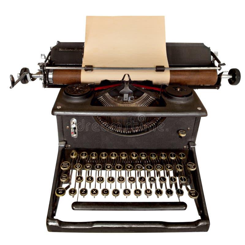 Weinlese-Schreibmaschine stockfoto