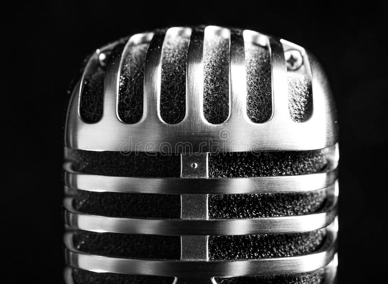 Weinlese shure Mikrofon lizenzfreie stockfotografie