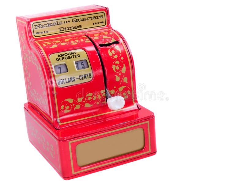 Weinlese-Spielzeug-Registrierkasse lizenzfreie stockfotografie