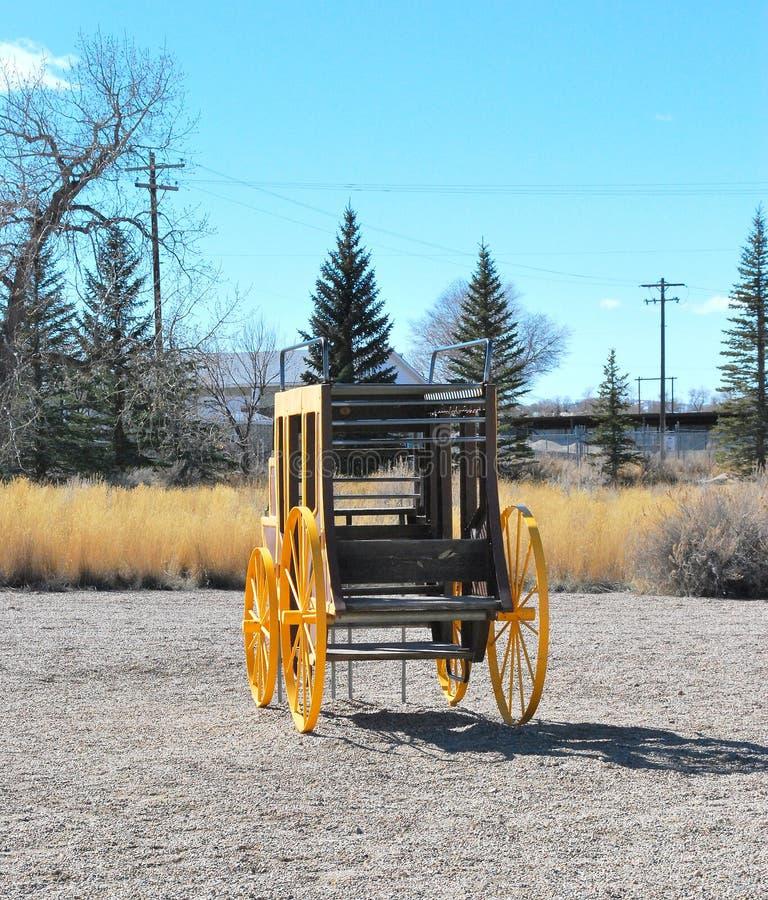 Weinlese Stagecoach stockfotos