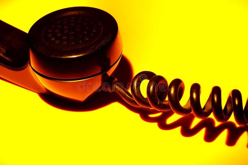 Weinlese-Telefon stockfoto