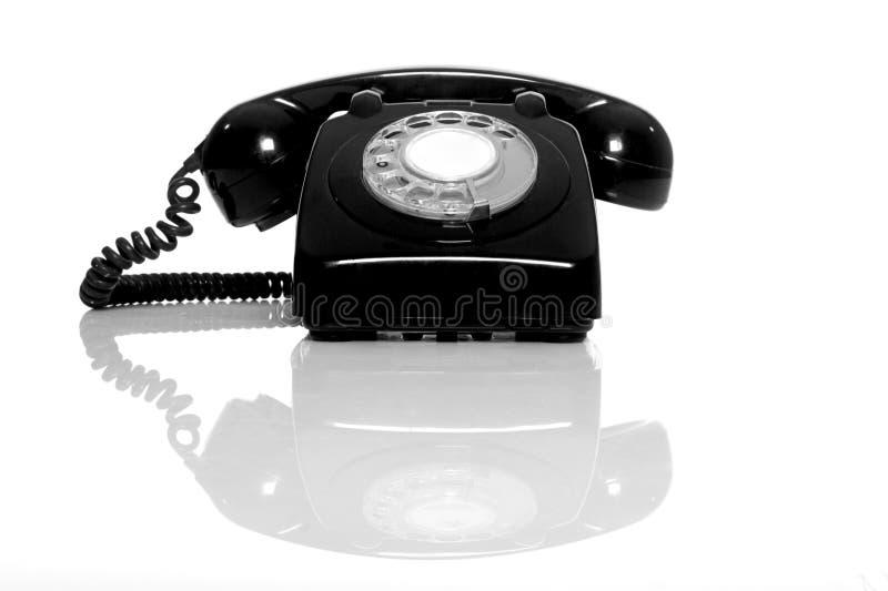 Weinlese-Telefon lizenzfreie stockfotografie