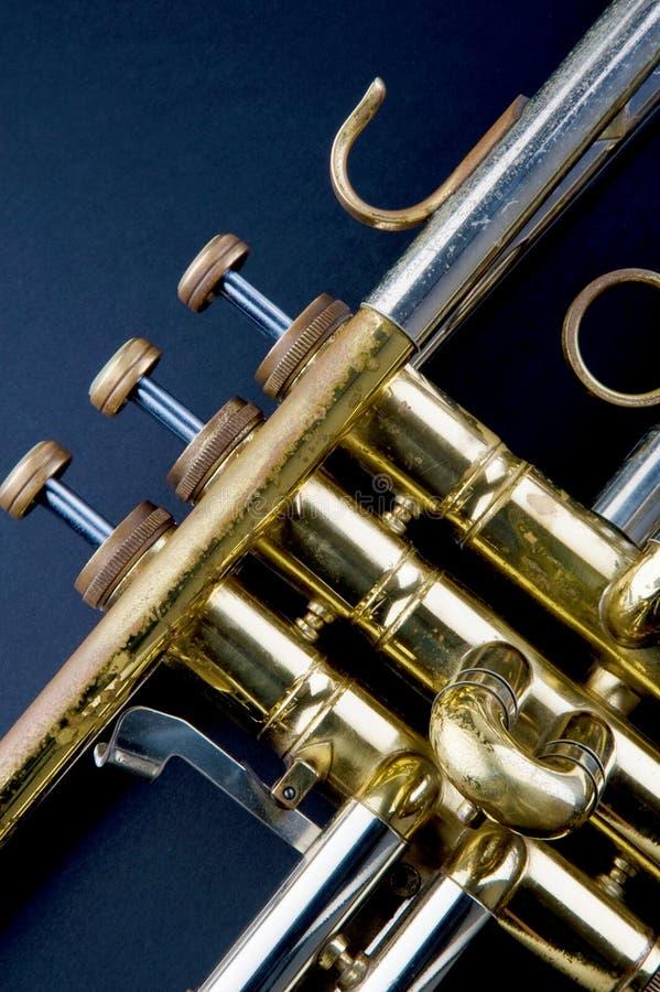 Weinlese-Trompete stockfotografie