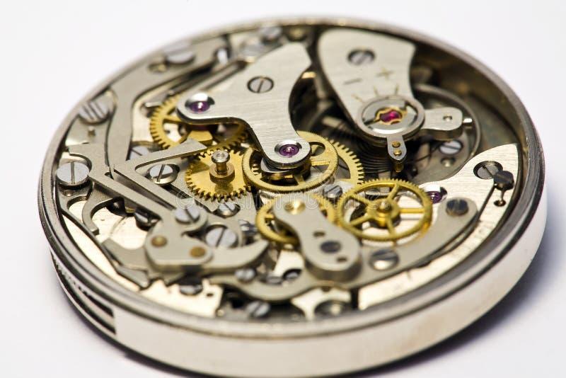 Weinlese-Uhr für Reparatur lizenzfreie stockfotos